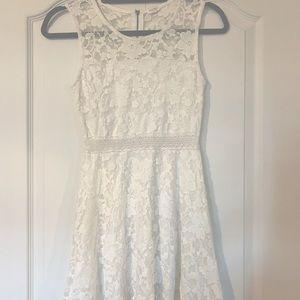 Gorgeous Garage Knee-Length Summer Dress